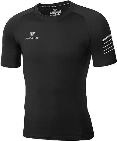 Sylar Camisetas Deporte Hombre Camisetas Hombre Manga Corta Camiseta Slim Fit Hombre Running Camiseta Cuello Redondo para Hombre: Amazon.es: Ropa y accesorios
