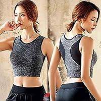 Cocosmart Bodysuit For Women Short Sleeve Bodysuit Women'S Athletic Running Sports Bra Fitness Seamless Padded Vest…