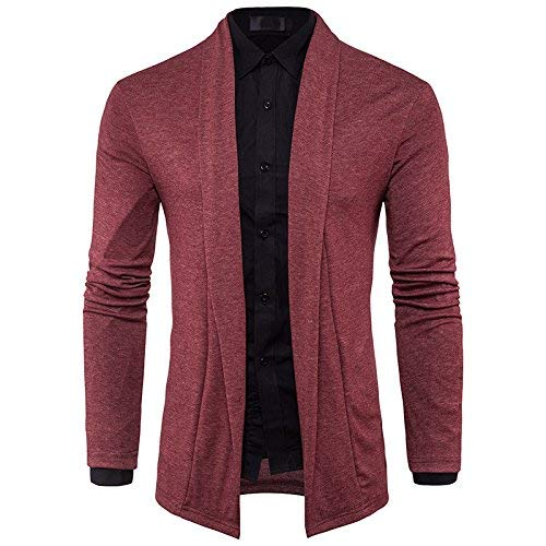 Sleeve Sin Ying Red Style Pullover De Hombres Camisa Tirante Knit La Fashion Long Minimalist Lun Vintage The Sau dTqFcYwH6