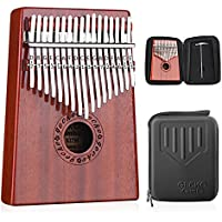 GECKO Kalimba 17 Keys Thumb Piano builts-in EVA...