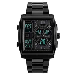 Amazon.com: Para hombre funda de Rectángulo de reloj ...