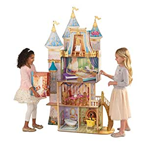 KidKraft 65962 Disney Princess Royal Celebration Dollhouse, Multi-Color