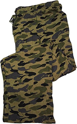 Camo Large Mens Pants - 8