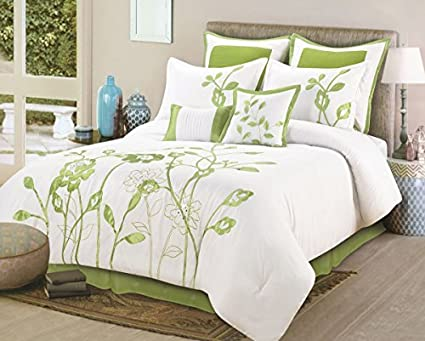 Favorite Amazon.com: 8 Pieces Luxury White, Sage Green Lily with Leaf  ZG43
