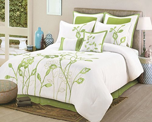 Amazon.com: 8 Pieces Luxury White, Sage Green Lily with Leaf