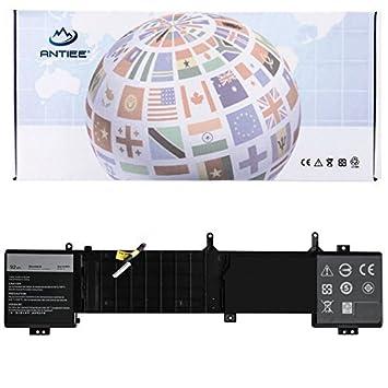 ANTIEE 14.8V 92Wh 6JHDV Batería para Ordenador portátil for DELL Alienware 17 R2 R3 5046J P43F Series 6JHCY: Amazon.es: Electrónica