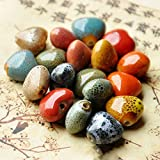 Wall of Dragon 14mm Heart Ceramic Beads for Women Men Bracelet Material Bead Mixed Color DIY Loose Porcelain Charm Beaded for Jewelry Making