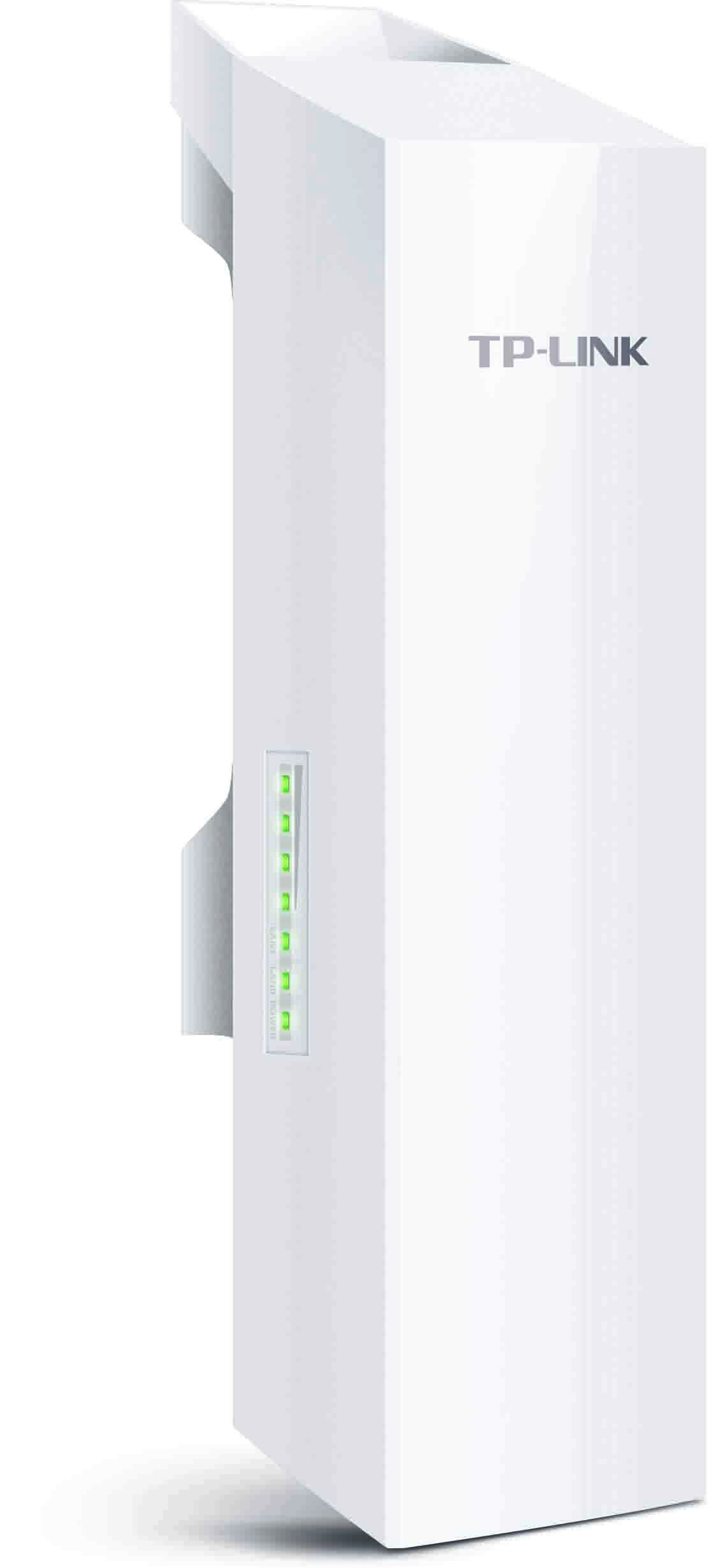 TP-LINK CPE210 2.4GHz 300Mbps 9dBi High Power Outdoor CPE/Access Point, 2.4GHz 300Mbps, 802.11b/g/n, dual-polarized 9dBi directional antenna, Passive POE by TP-LINK