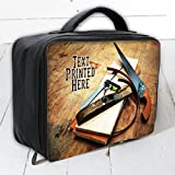 Personalised Carpentry Best DadLb006Large Work Lunch Bag Cool Box Insulated Dad Gift by Krafty Gifts