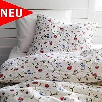 Ikea Bettwäsche Set Alvine örter 2 Teilige Garnitur 155 X 220 Cm