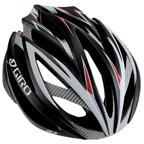 Giro Atmos Road Helmet - Giro Ionos Road Racing Helmet (Medium, Matte Black/Red )