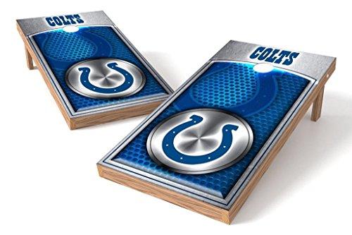 PROLINE NFL 2'x4' Indianapolis Colts Cornhole Set - Medallion Design
