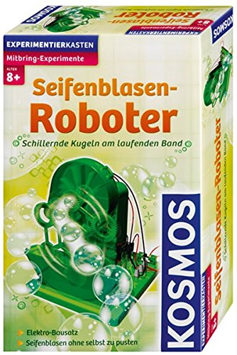 Kosmos 659141 - Experimentierset Seifenblasen-Roboter
