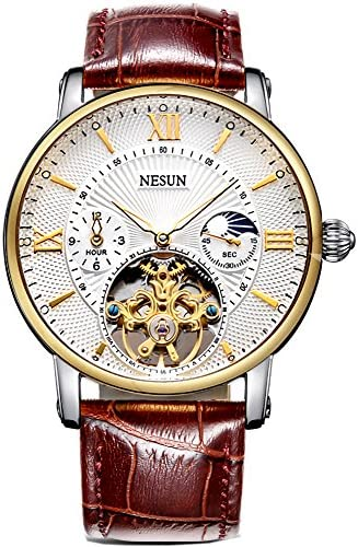 Complications Men s Business Automatic Mechanical Skeleton Casual Wrist Watch