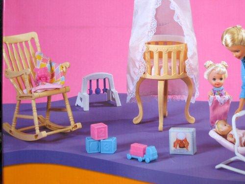 Barbie Baby Krissy Home Nursery Playset W Krissy Outfit