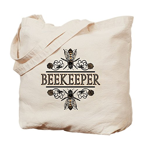 The Beekeeper Natural Canvas Tote Bag