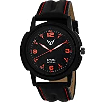 Fogg Analog Black Dial Men's Watch 1093-BK