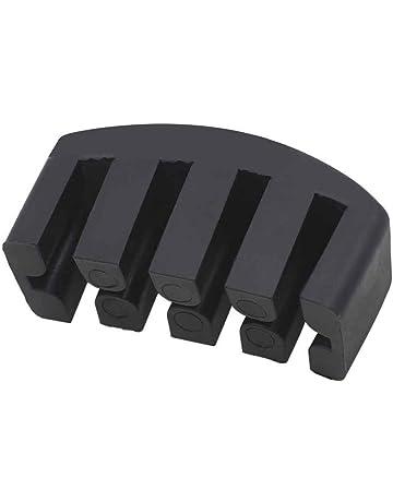 Elenxs 5 Garras Práctica de goma Cello Silencio Silenciador para control de volumen Cello
