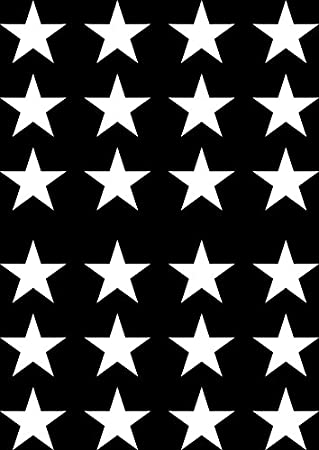 Star small stars 24 pack 1 5 diameter vinyl decal stickers diy wallpaper