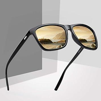 SQYJING Gafas de Sol para Gafas de Sol Polaroid Unisex Gafas ...