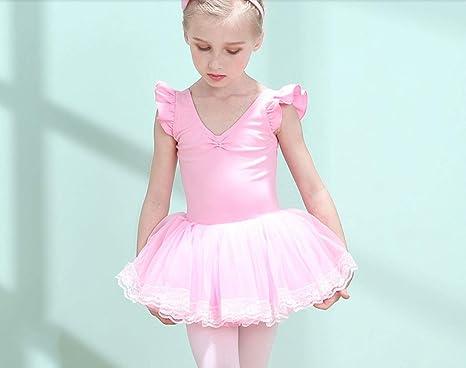 ZHANGQIAN Ropa De Baile para Niñas Disfraz De Ballet Infantil ...