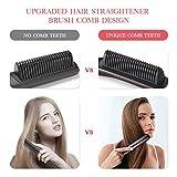 Hair Straightener Brush, LARMHOI Upgraded Hair