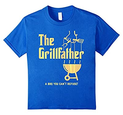 The Grillfather Barbeque and Grilling Funny T-Shirt
