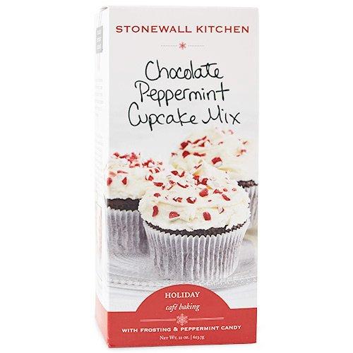 Stonewall Kitchen Chocolate Peppermint Cupcake Mix, 22 (Chocolate Peppermint Cupcakes)