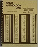 Song Anthology One 4th Edition