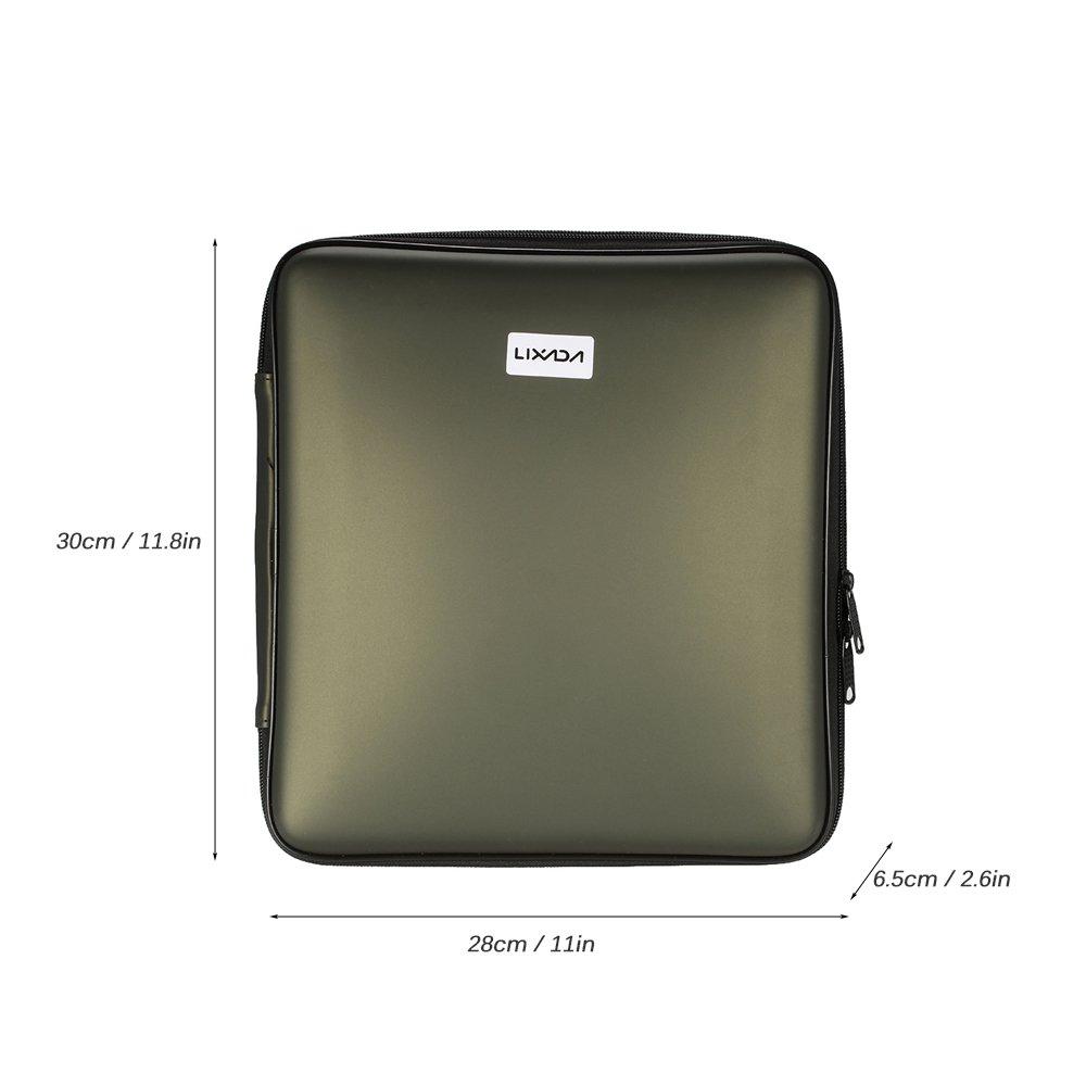 1 Receptor 4pcs Swinger de Pesca Caja con Cremallera Lixada Alarma de Pesca Inal/ámbrico Digital Kit 4pcs Alarmas