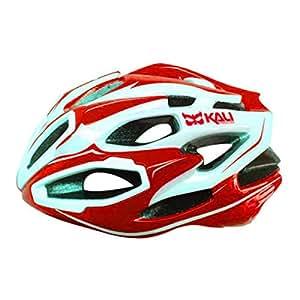 Kali Protectives 2014 Maraka Road Bike Helmet (Zone Red/White - S/M) Size Medium