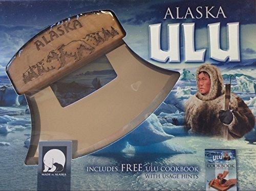 Alaska Ulu Knife Birch Walking Bear by AKJ