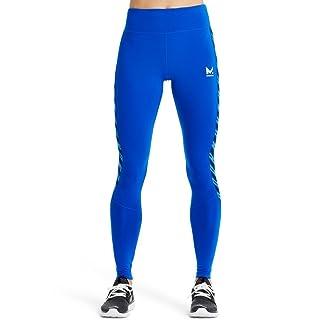 Mission Women's VaporActive Altitude Full Length Leggings, Lapis Blue/Rush Lapis Blue, Medium
