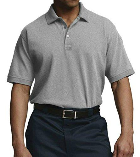 Charles River Apparel 3045 Men's Short Sleeve Allegiance Polo,Heather Grey,XL
