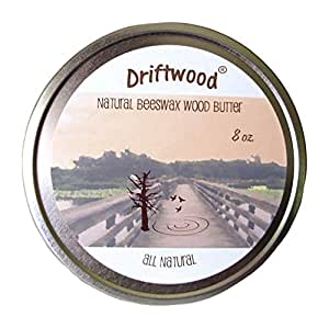 Driftwood Beeswax Wood Butter and Natural Furniture Polish