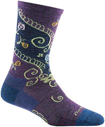 Mountain Wool Knitting Yarn - Darn Tough Twisted Garden Crew Light Sock - Women's Denim Medium