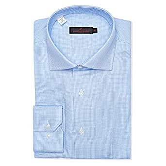 Pierre Cardin Dress Shirt for Men - Blue