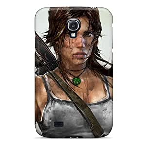 For Galaxy Case, High Quality Lara For Galaxy S4 Cover Cases