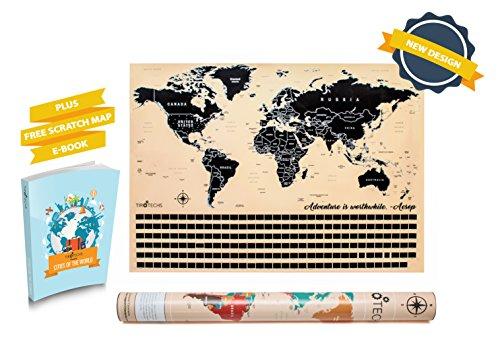World Scratch Map - 7