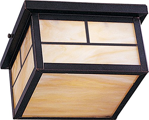 Mission Style Outdoor Ceiling Light