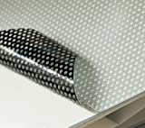Perforated Window Vinyl Roll (54'' x 150') Compatible /w Eco-Solvent, Latex, UV Curable, Solvent Inks (Roland Mimaki Mutoh)