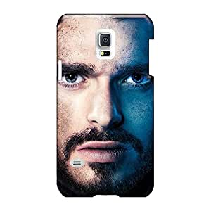 Anti-Scratch Hard Phone Covers For Samsung Galaxy S5 Mini With Allow Personal Design High-definition Game Of Thrones Robb Stark Skin KimberleyBoyes