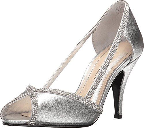 Caparros Women's Faith Silver Metallic P - Silver Metallic Rhinestone Shoe Shopping Results