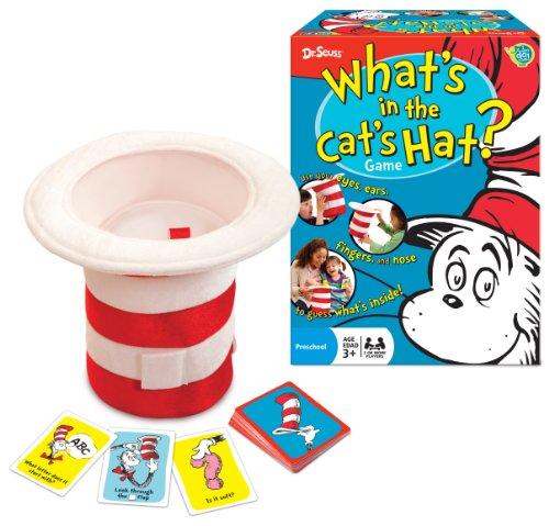 Dr. Seuss What's in the Cat's Hat? Game (Super Scary Stuff)