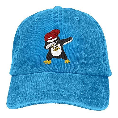 Washer Clothes Console (Dabbing Animals Baseball Cap for Men/Women Adjustable Plain Denim Dad Hats)