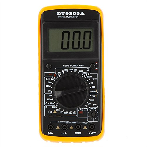 Handheld Digital Multimeters DMM w/ Capacitance hFE Test