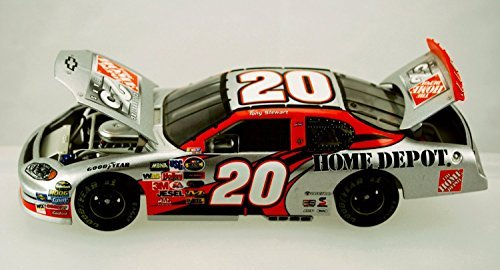 NASCAR Action Tony Stewart #20 - 2004 Chevy Monte Carlo - Home Depot 25th Anniversary - 1:24 Scale Die Cast - 1 of 9,864 - Limited Edition - Collectible
