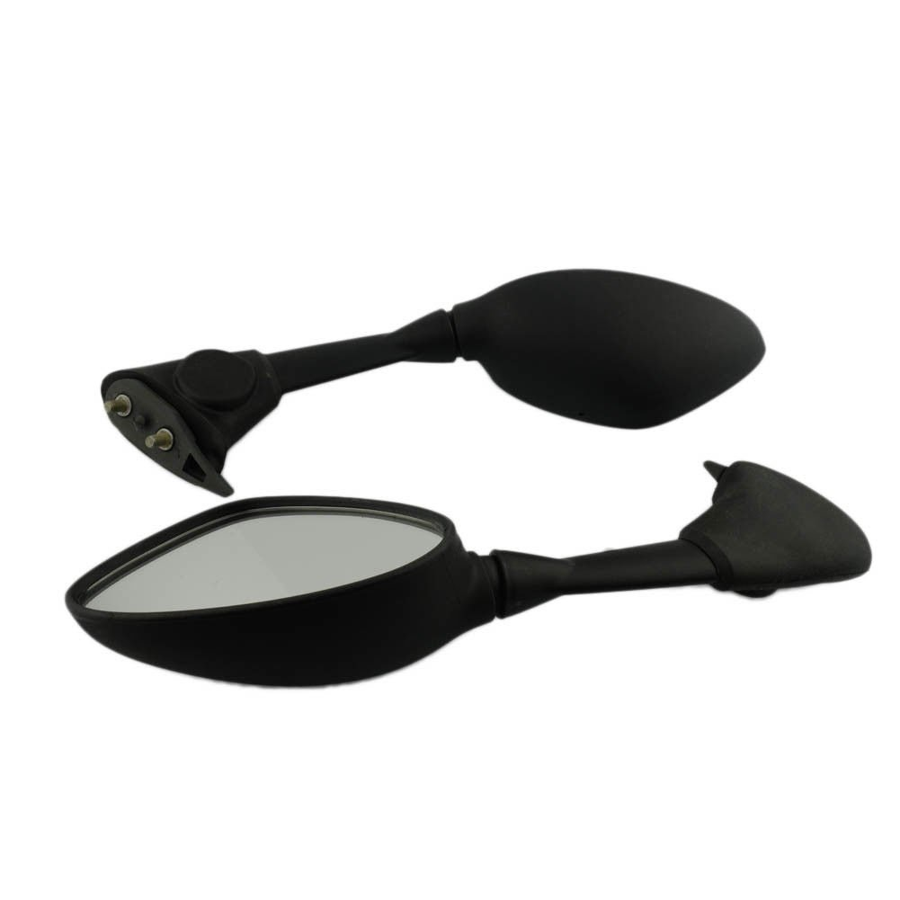 Black ABS Side Mirrors Motorcycle Rearview Fit For BMW S1000RR S1000 RR 2010-2014 2011 2012 2013 by Beautyexpectly