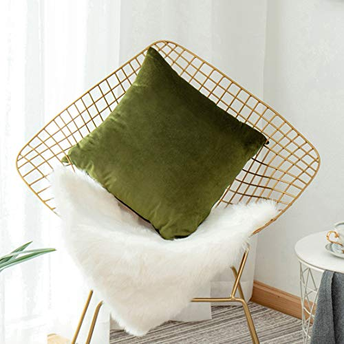 Sham Euro Green - HOME BRILLIANT St Patricks Day Pillow Cover Couch Green Euro Sham Pillow Covers Large Cushion Cover Pillow Case for Patio Outdoors Spring, 26