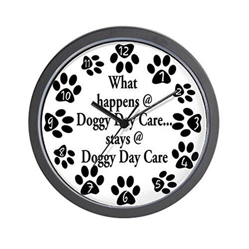 CafePress - Doggy Day Care Wall Clock - Unique Decorative 10